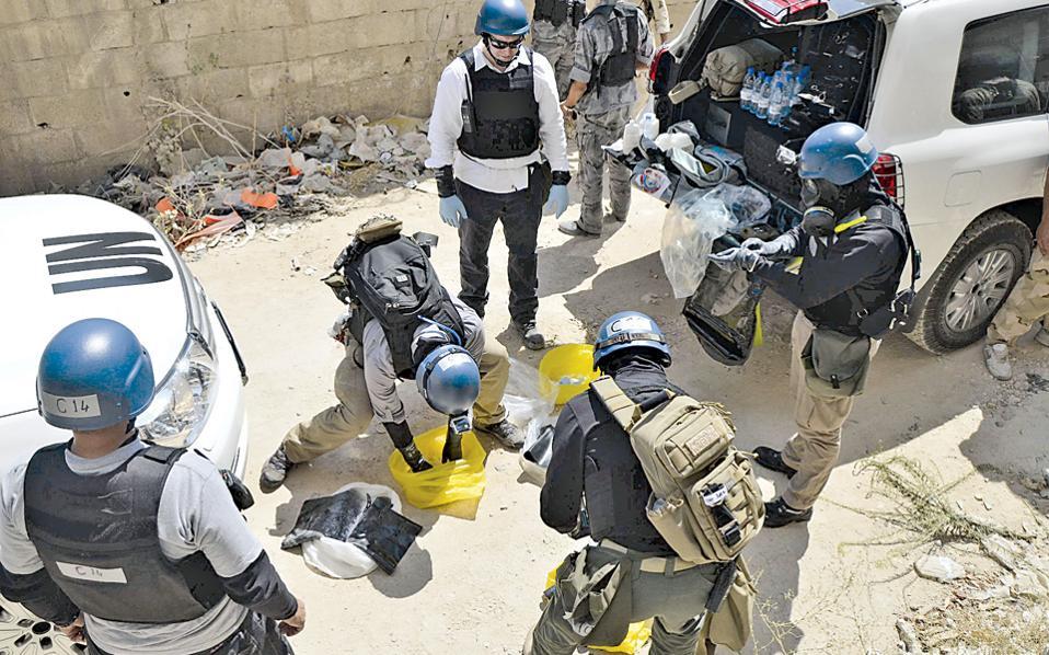 Από το πρώτο περιστατικό φονικής χρήσης χημικών αερίων στο Χαν αλ Ασαλ, οι επιθεωρητές του ΟΗΕ όπως και μυστικές υπηρεσίες υποψιάζονταν ως δράστες οργανώσεις Σύρων τζιχαντιστών.