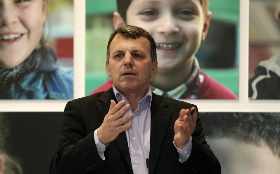 Ο καθηγητής του Παντείου και αντιπρόεδρος της Διεθνούς Ομοσπονδίας Δικαιωμάτων του Ανθρώπου, Δημ. Χριστόπουλος.