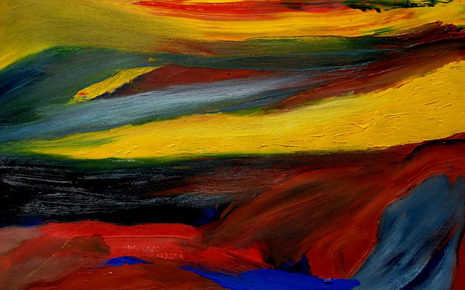 Ζωγραφική: Mario De Paduanis. Ενωση Πτυχιούχων Ανωτάτης Σχολής Καλών Τεχνών. Εως 12 Ιουλίου.