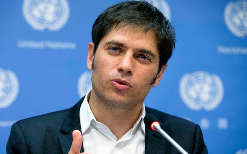 Ο υπουργός Οικονομικών της Αργεντινής Άξελ Κισίλοφ