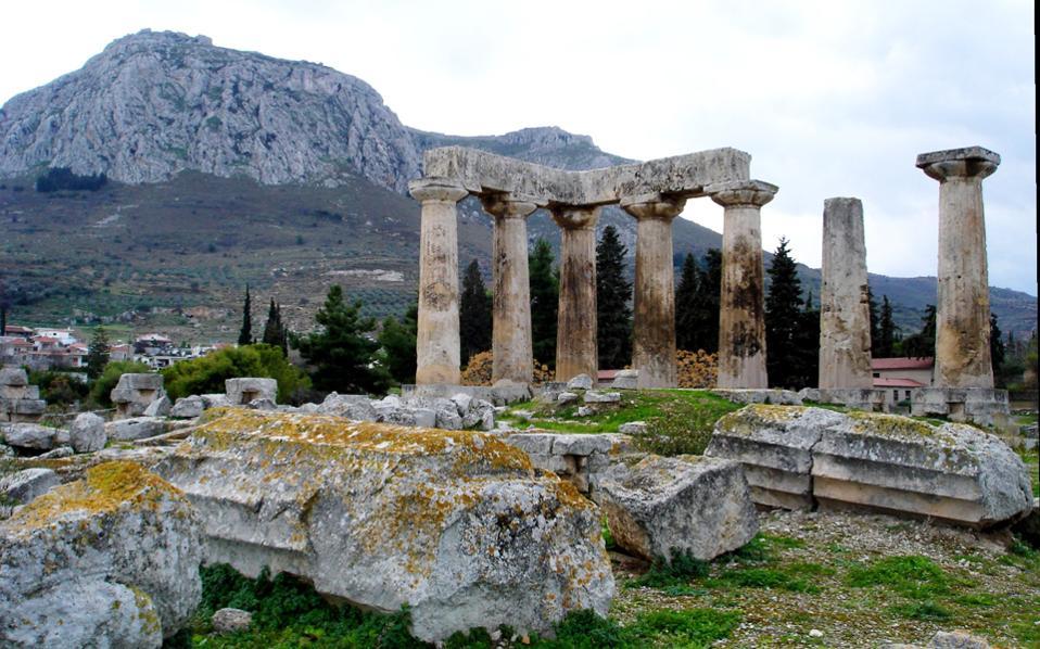 Η Αρχαία Κόρινθος τα Σαββατοκύριακα είναι δύσκολο ή πολυέξοδο αξιοθέατο, καθώς δεν εξυπηρετείται από λεωφορεία...