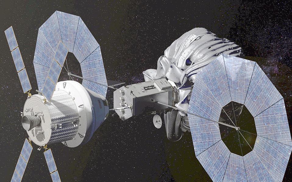 Ενας αστεροειδής στη «γειτονιά» της Σελήνης