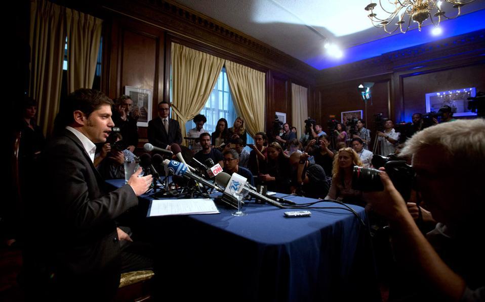 Ο υπουργός Οικονομίας της Αργεντινής, Άξελ Κισίλοφ.