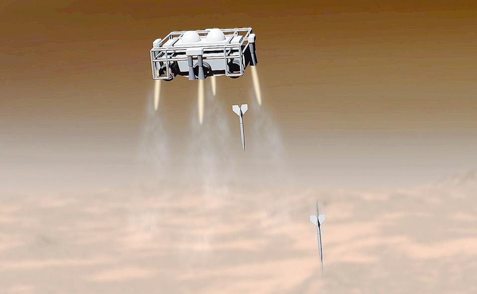 Θα εκτοξεύσουν «βέλη» στον Αρη, αναζητώντας ίχνη ζωής