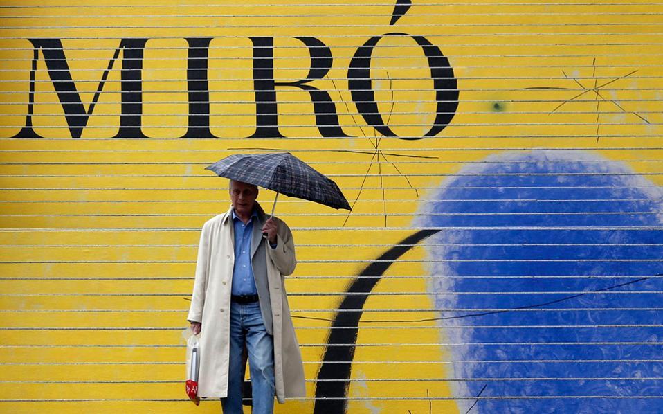 O Μιρό και τα έργα του δίνουν χρώμα στη φθινοπωρινή Βιέννη.