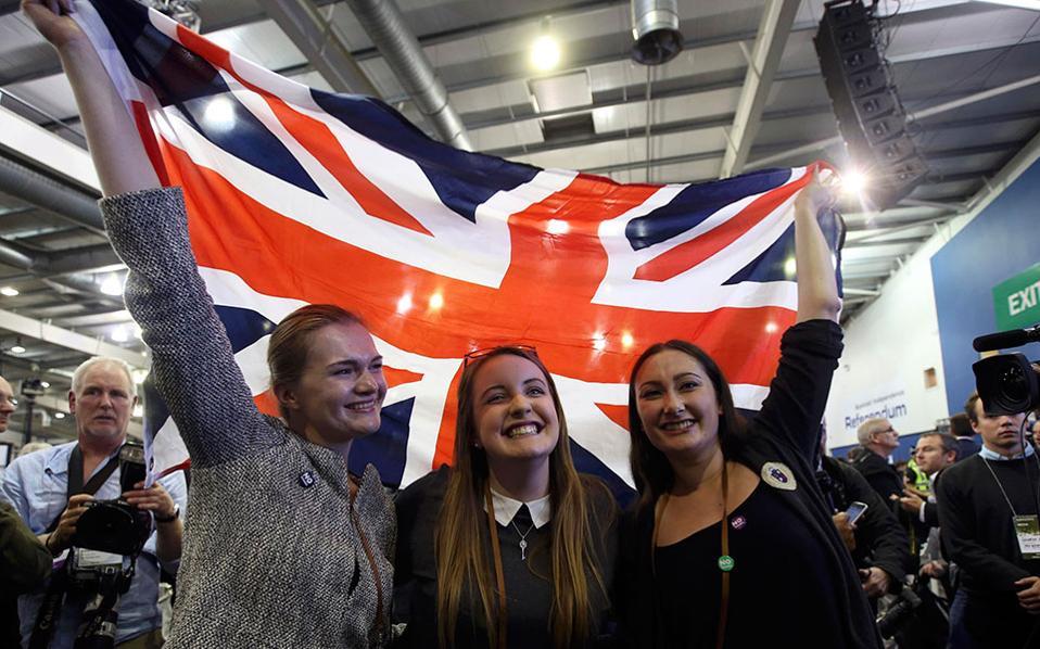 «Ναι» στο Ηνωμένο Βασίλειο ψήφισε το 55% των Σκωτσέζων