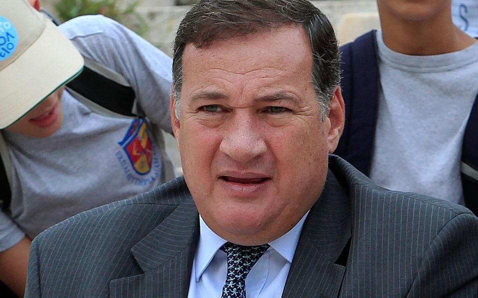 Ο πρόεδρος της Ελληνικής Ολυμπιακής Επιτροπής, Σπύρος Καπράλος.