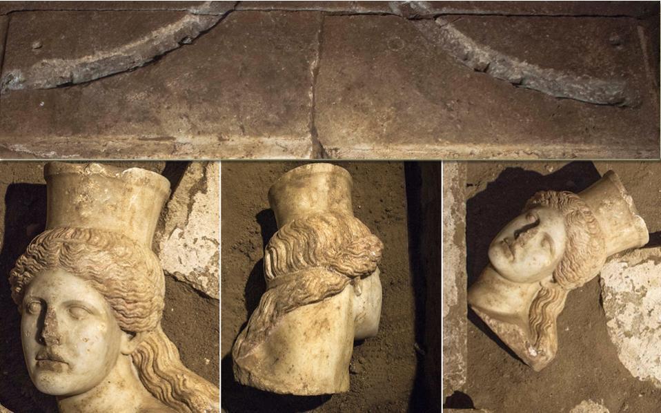 Το κεφάλι της Σφίγγας εντυπωσιάζει αλλά προσθέτει έναν ακόμα γρίφο