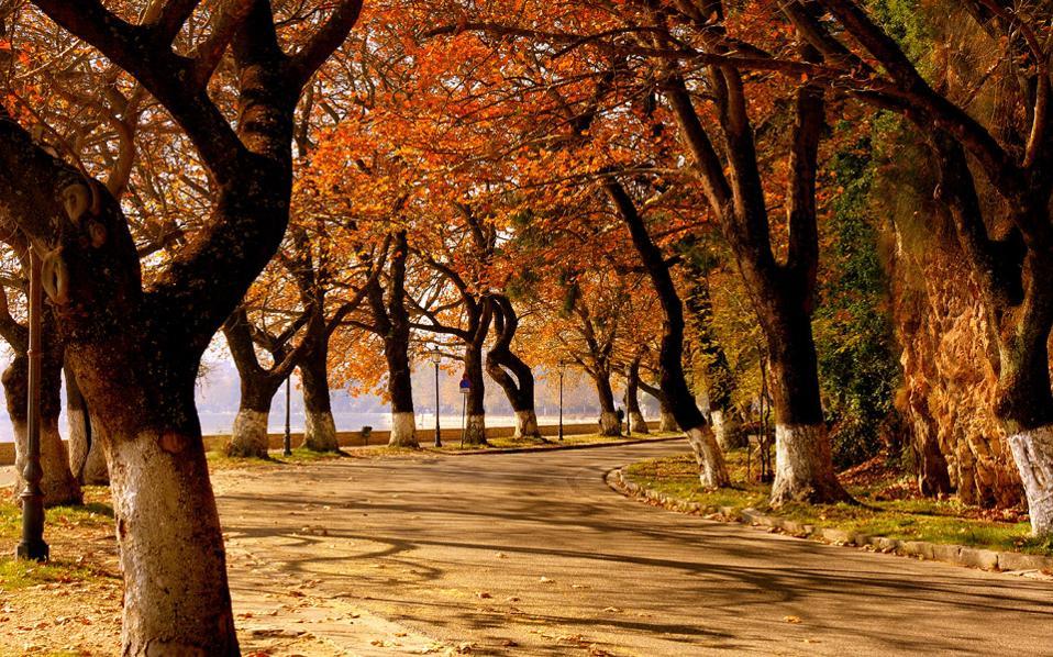 Πόλη κατεξοχήν φθινοπωρινή, τα Γιάννενα αυτή την εποχή  είναι στις ομορφιές τους.