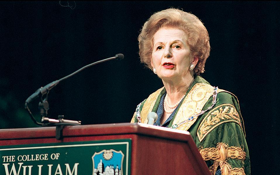 Σημαντική περίπτωση και η ένρινη φωνή που ηχεί διαρκώς σε οξείς τόνους σαν «στριγκλιά» και προκαλεί εκνευρισμό στους άλλους. Με αποτέλεσμα ο ομιλών να χάνει το δίκιο του και να μην αντιλαμβάνεται το γιατί». Η Καλούτσα αναφέρει μάλιστα ότι «το σύμπτωμα» αυτό το είχε η πρωθυπουργός της Βρετανίας Μάργκαρετ Θάτσερ (φωτογραφία), η οποία εγκαίρως, στην αρχή της πολιτικής καριέρας της, το αντιλήφθηκε και «κατέβασε τη φωνή της»