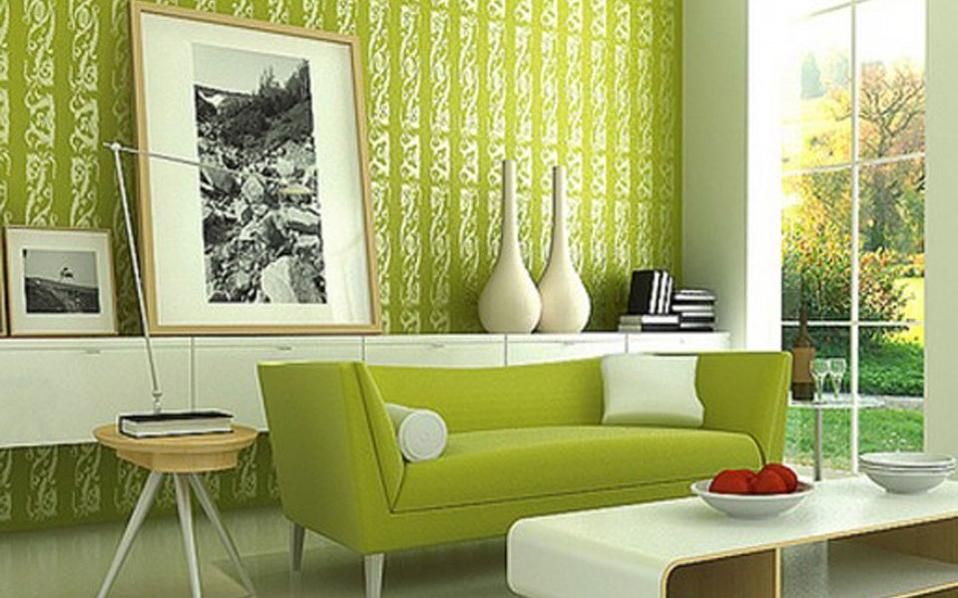 dynamic-green-living-room-wall-paint-interior-decor