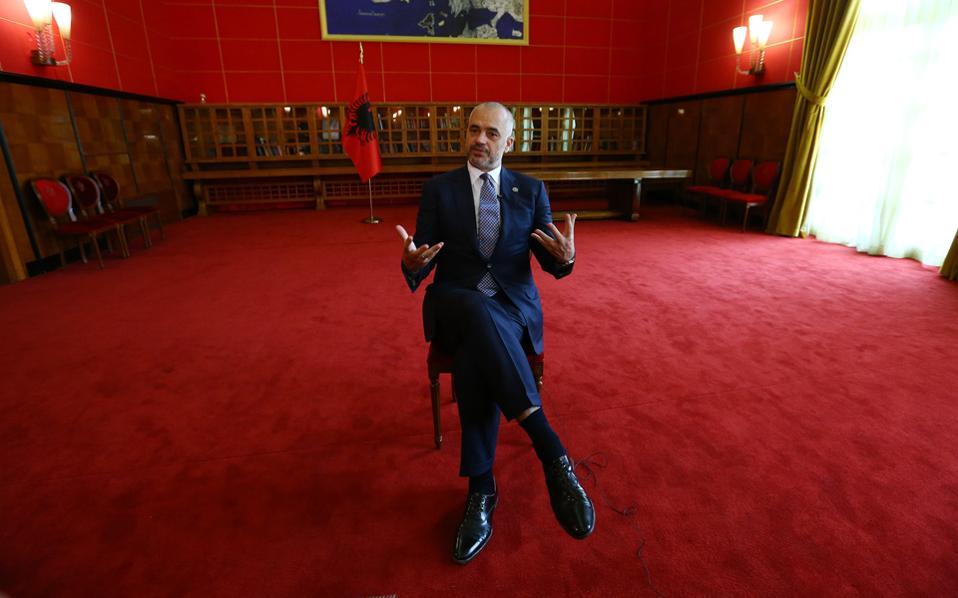 «Αυτό που όλοι μας ονειρευόμαστε είναι μια Μεγάλη Ευρώπη και όχι μια Μεγάλη Αλβανία ή μια Μεγάλη Σερβία ή μια Μεγάλη Ελλάδα», αναφέρει στην «Κ» ο Αλβανός πρωθυπουργός Εντι Ράμα.