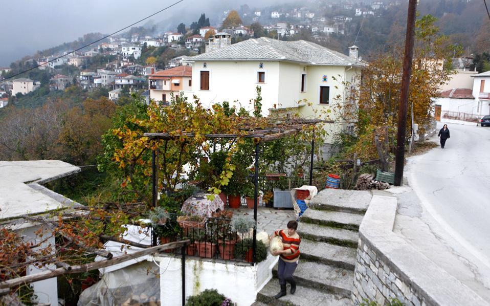 Οι περισσότεροι κάτοικοι της Ζαγοράς είναι αγρότες. (Φωτογραφία: Κατερίνα Καμπίτη)