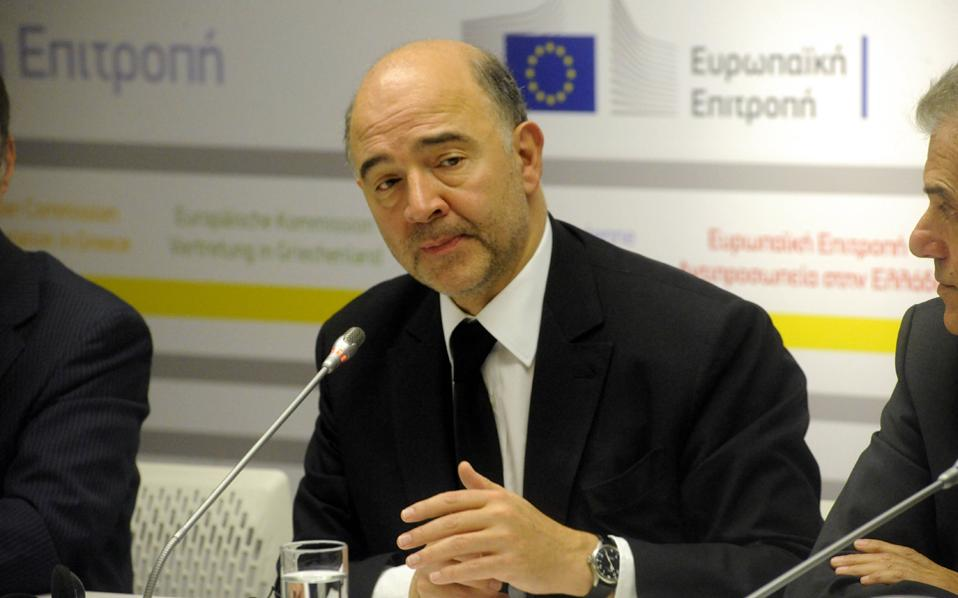 Ο κοινοτικός επίτροπος, κ. Π. Μοσκοβισί, δήλωσε σε συνέντευξή του πως «επιθυμούμε η Ελλάδα να παραμείνει στην Ευρωζώνη».