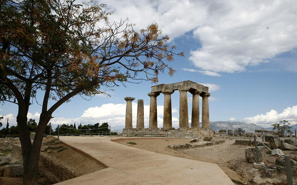 Αρχαία Κόρινθος - Ναός Απόλλωνα
