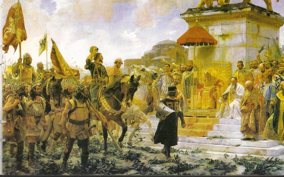 Το 1303, οι Καταλανοί ταξίδεψαν από τη Σικελία στην Κωνσταντινούπολη για να βοηθήσουν τον αυτοκράτορα Ανδρόνικο στην αντιμετώπιση της οθωμανικής απειλής.