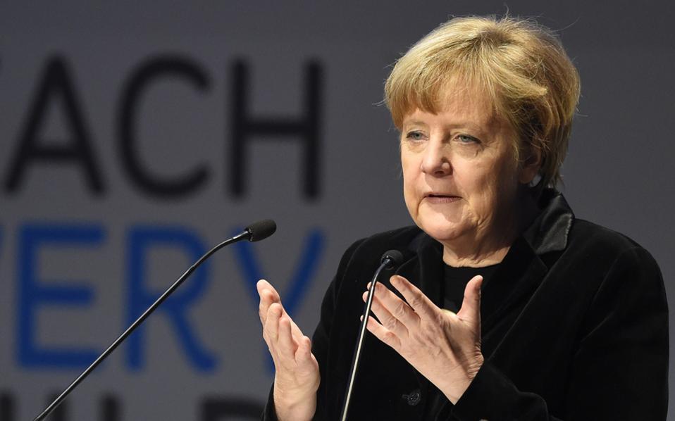 Η κ. Μέρκελ στο συγχαρητήριο τηλεγράφημά της προς τον κ. Τσίπρα επισήμανε στον Ελληνα πρωθυπουργό ότι έχει να αντιμετωπίσει «μεγάλες ευθύνες».