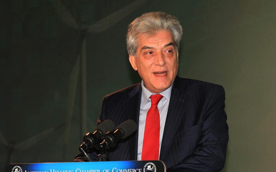 Ο πρόεδρος και διευθύνων σύμβουλος της ΔΕΗ, Αρθούρος Ζερβός.