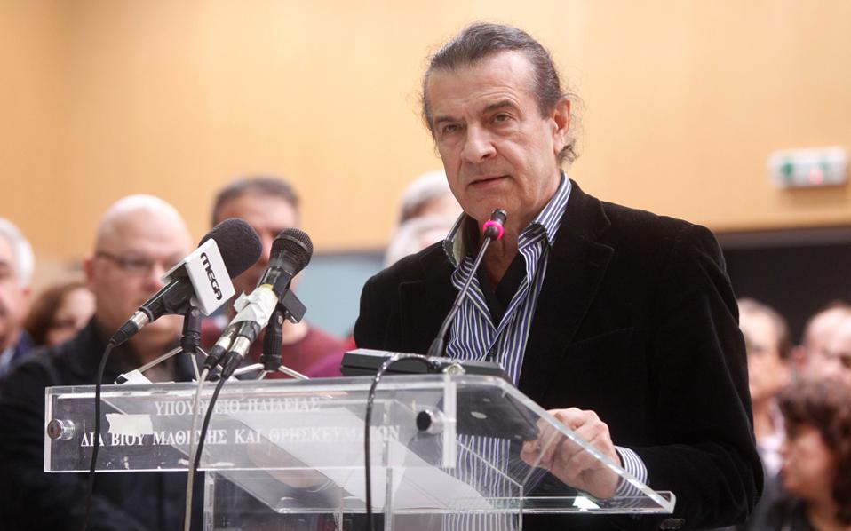 Ο αναπληρωτής υπουργός Παιδείας Τάσος Κουράκης.