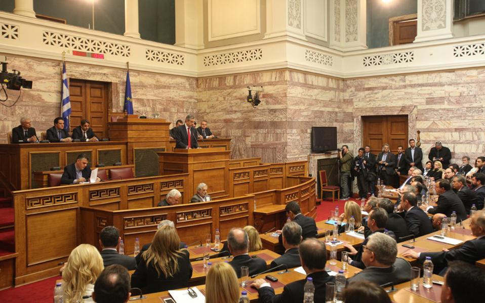Η χθεσινή συνάντηση στελεχών της Ν.Δ. ανοίγει το κεφάλαιο της «επόμενης ημέρας» στο κόμμα της αξιωματικής αντιπολίτευσης, ενόψει της συνεδρίασης της Κοινοβουλευτικής Ομάδας του κόμματος στις 19 Φεβρουαρίου.