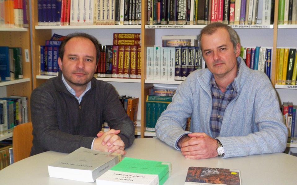 Ο δρ Ανδρέας Παπασαλούρος και ο δρ Αντώνης Τσολομύτης είναι οι ιθύνοντες νόες του νέου λογισμικού.