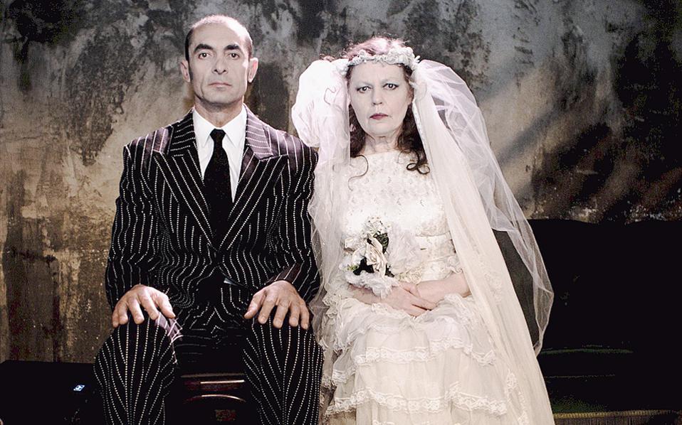Ο Αλέκος Συσσοβίτης και η Ρούλα Πατεράκη.