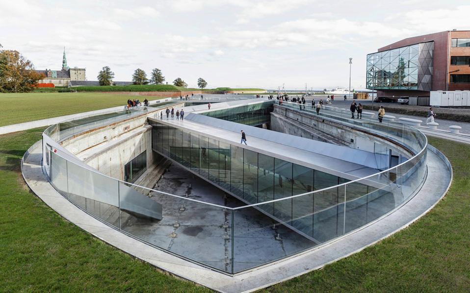Μια άλλη άποψη του Ναυτικού Μουσείου της Δανίας, έργο του δανέζικου αρχιτεκτονικού γραφείου BIG. (Φωτ.: Rasmus Hjortshoj)