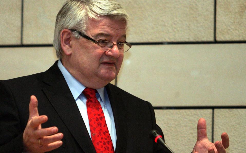 Ο πρώην υπουργός Εξωτερικών της Γερμανίας και ιδρυτής των Πρασίνων, Γιόσκα Φίσερ.