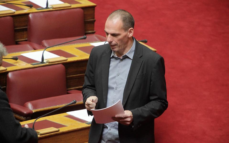 Το πολυνομοσχέδιο θα συζητηθεί την Πέμπτη στο υπουργικό συμβούλιο, δήλωσε ο υπουργός Οικονομικών Γ. Βαρουφάκης.