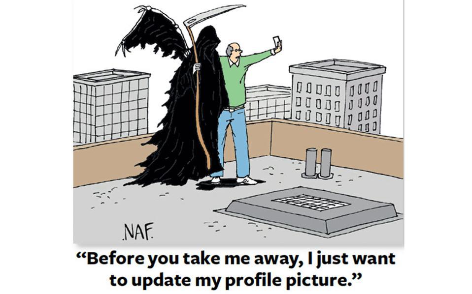 """""""Πριν με πάρεις θα ήθελα απλά να ανανεώσω την φωτογραφία στο προφίλ μου""""."""