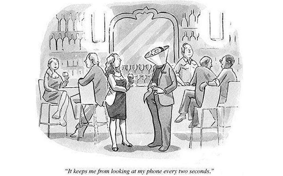 """""""Με βοηθάει από το να κοιτάω το κινητό μου ανά δύο δευτερόλεπτα""""."""