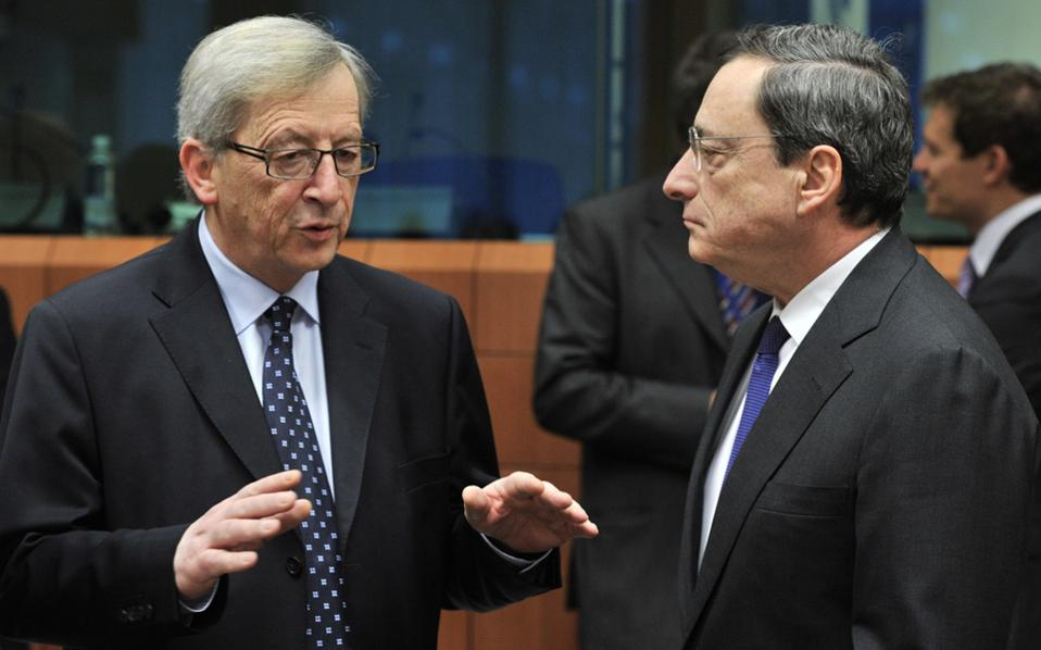 Ζαν-Κλοντ Γιουνκέρ και Μάριο Ντράγκι ήταν οι δύο από τους τρεις –μαζί με την Κριστίν Λαγκάρντ– παραλήπτες της επιστολής Τσίπρα της 8ης Μαΐου, όπου ο Ελληνας πρωθυπουργός «προειδοποιούσε» ότι δεν θα πλήρωνε τη δόση στο ΔΝΤ.
