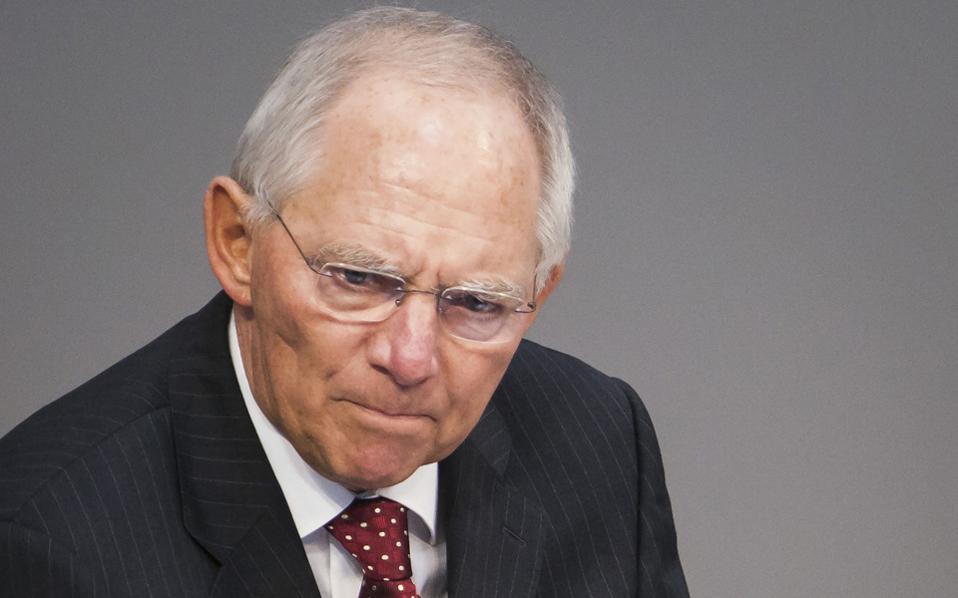Ο Σόιμπλε θεωρεί ότι, στα κρίσιμα ζητήματα της διαπραγμάτευσης, η πρόοδος είναι «από ελάχιστη έως μηδενική».