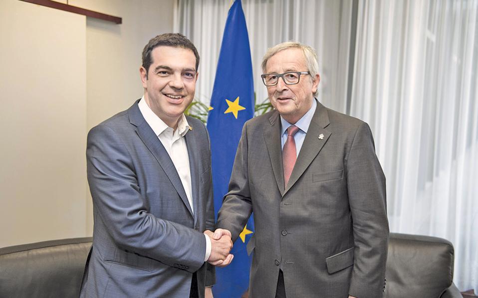 Το κυβερνητικό κλιμάκιο που στέλνει ο κ. Τσίπρας εκτάκτως στις Βρυξέλλες θα συναντηθεί με εξουσιοδοτημένο εκπρόσωπο του κ. Γιουνκέρ.