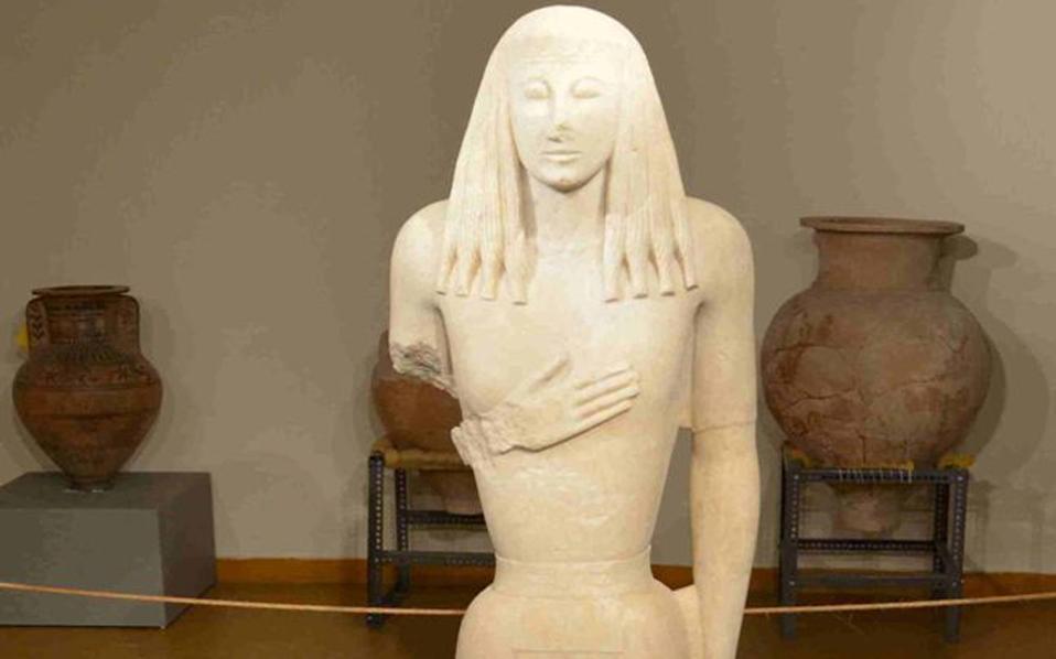 Η περίφημη «Κόρη της Θήρας» θα εκτεθεί για πρώτη φορά το 2016.