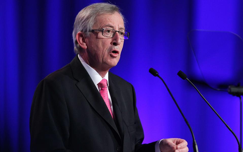 Την έντονη απογοήτευσή του για τους χειρισμούς της ελληνικής κυβέρνησης εξέφρασε ο Ζ. Κ. Γιουνκέρ.