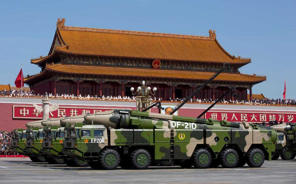 Το νέο υπερόπλο της Κίνας, ο «καταστροφέας αεροπλανοφόρων»