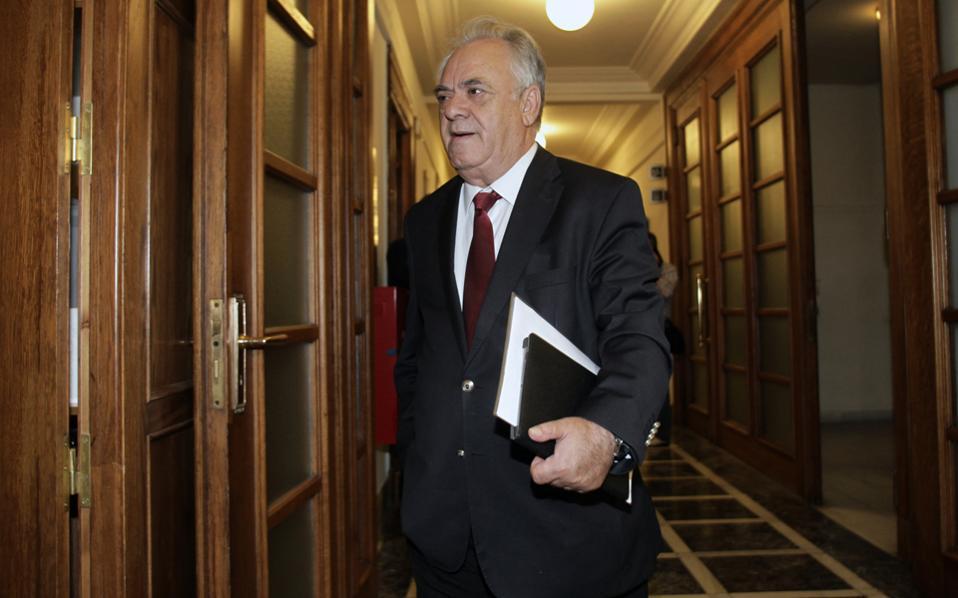 Την αισιοδοξία για την διαδικασία της ανακεφαλαιοποίησης των τραπεζών εξέφρασε την Πέμπτη ο αντιπρόεδρος της κυβέρνησης, κ. Γιάννης Δραγασάκης, μετά από συνάντηση που είχε με τον Πρόεδρο της Δημοκρατίας.