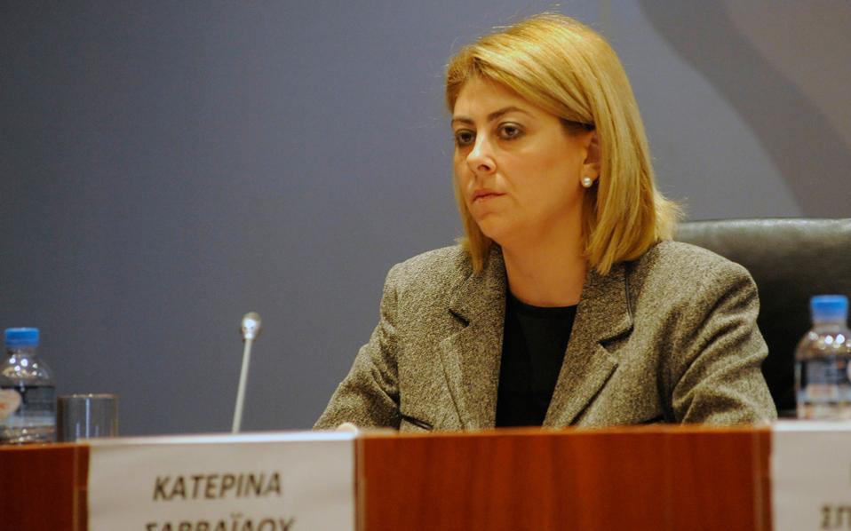 Αποφασισμένη να ρίξει φως σε όλες τις διαστάσεις της υπόθεσης που ερευνούσε ήταν η κ. Κατερίνα Σαββαΐδου.