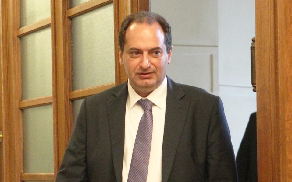 Ο υπουργός Υποδομών και Μεταφορών Χρ. Σπίρτζης.