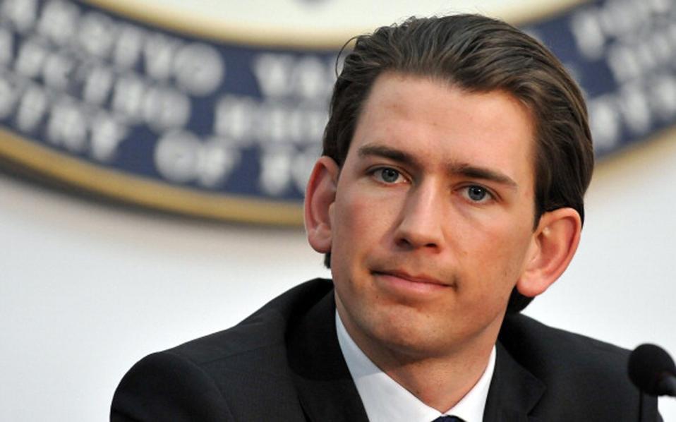 Ο Αυστριακός ΥΠΕΞ, Σεμπάστιαν Κουρτς, προανήγγειλε το κλείσιμο των βορείων συνόρων  της Ελλάδας, το οποίο οργανώνεται και με βοήθεια της χώρας του.