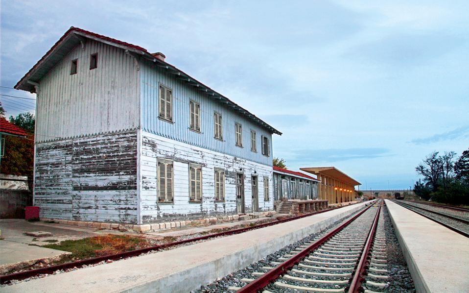 Ο γαλλικός σιδηροδρομικός σταθμός του Διδυμότειχου. (Φωτογραφία: ΟΛΓΑ ΧΑΡΑΜΗ)