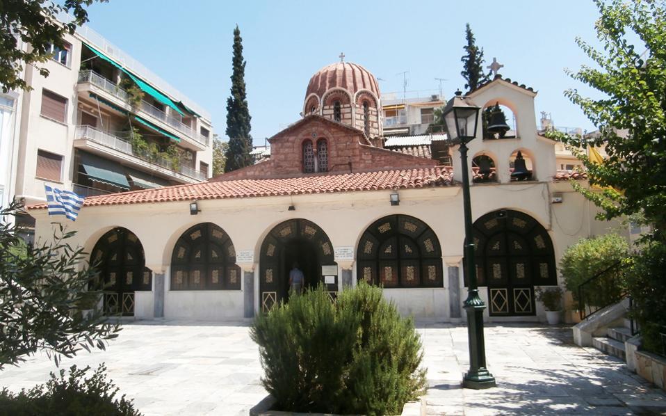 Ο βυζαντινός ναός της Αγίας Αικατερίνης στην Πλάκα πρέπει σήμερα να προστατευθεί, προκειμένου να... προλάβει να κλείσει χιλιετία (χρονολογείται στο 1025-1050 μ.Χ.).