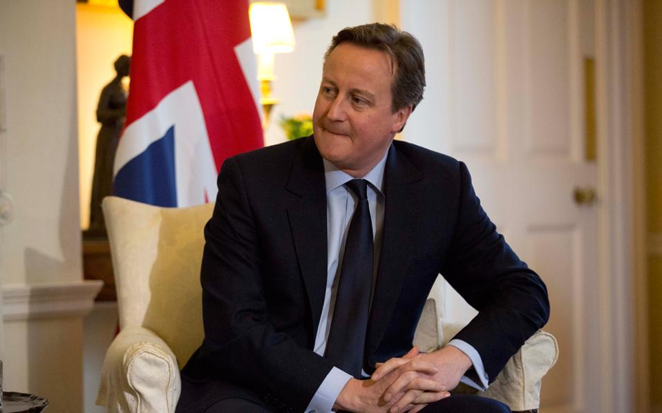 Ο κ. Κάμερον θα μπορούσε να είχε συμμετάσχει στο συνέδριο του Ευρωπαϊκού Λαϊκού Κόμματος το 2011 και να είχε συζητήσει περί διάσωσης της Ευρωζώνης.