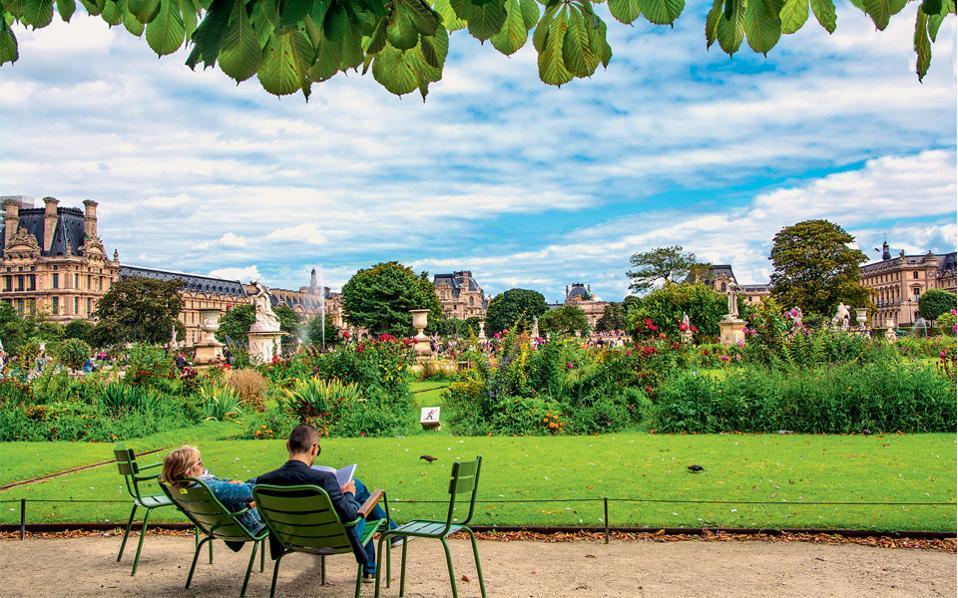 10 for Jardin des tuileries 2016