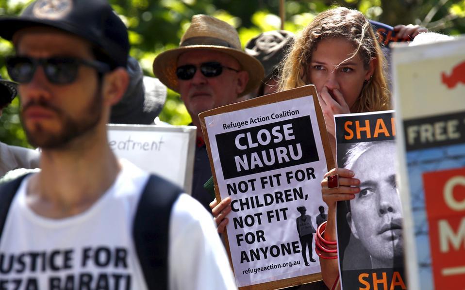 Αποτέλεσμα εικόνας για ναουρου αυστραλια refugees