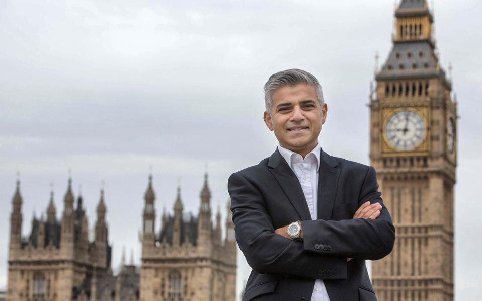 Ο υποψήφιος των Εργατικών για δήμαρχος του Λονδίνου, Σαντίκ Χαν.
