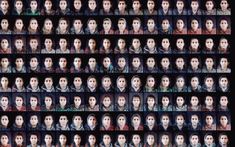 Εργο του γνωστού φωτορεπόρτερ Αντουάν Ντ' Αγκάτα, που θα παρουσιαστεί στο Μουσείο Σύγχρονης Τέχνης Κρήτης.