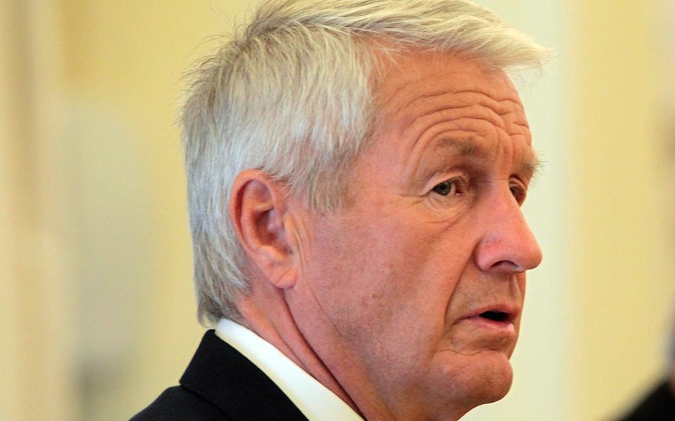 Ο γενικός γραμματέας του Συμβουλίου της Ευρώπης, Θόρμπγιορν Γιάγκλαντ.