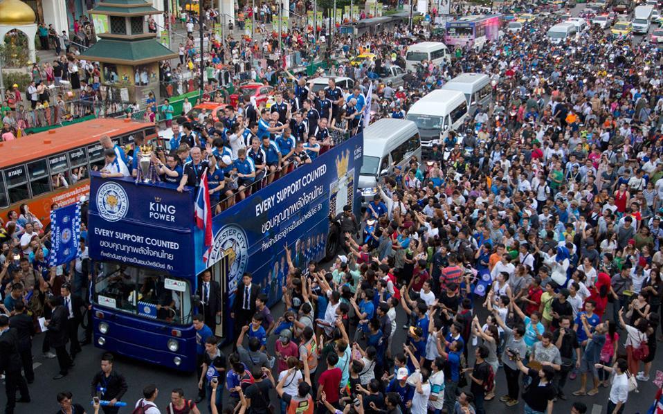 Στην επίσημη υποδοχή της ομάδας, μαζεύτηκαν περίπου 250.000 άνθρωποι να την επευφημήσουν.